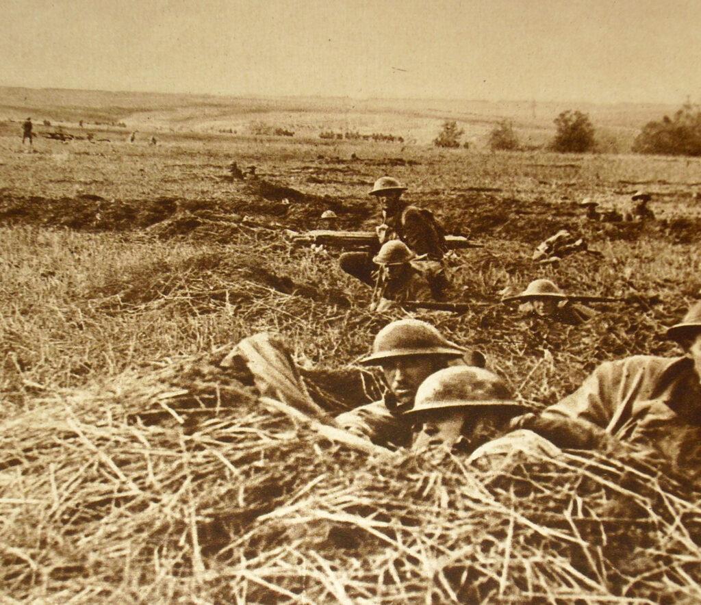 WWI troop photo