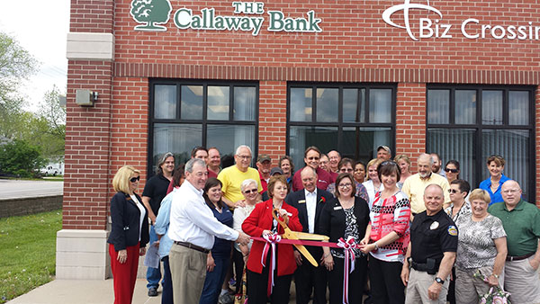 Ashland Branch ribbon cutting