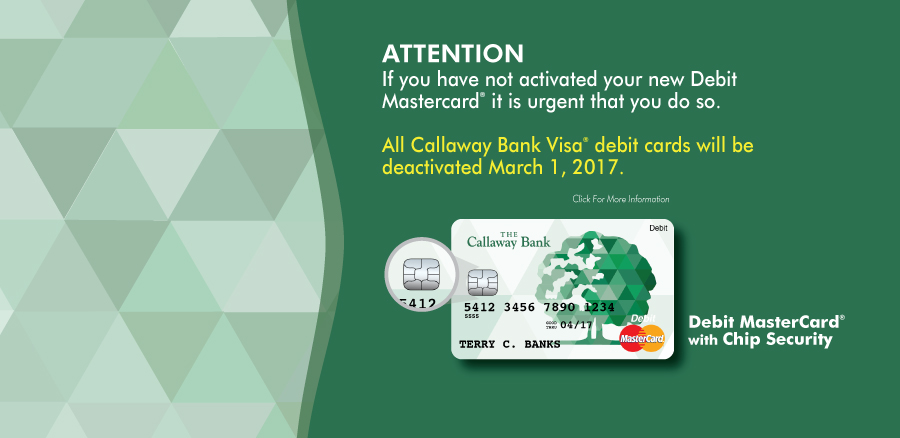 Visa Cards to be deactivated on March 1