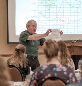 Steve Lefever teaching in 2016
