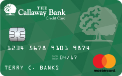 Credit cards mid missouri the callaway bank at the callaway bank weve designed our credit cards with our customers in mind whether your goal is to have a credit card for emergency use reheart Image collections