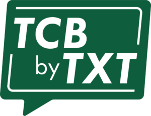 TCB By Text Graphic