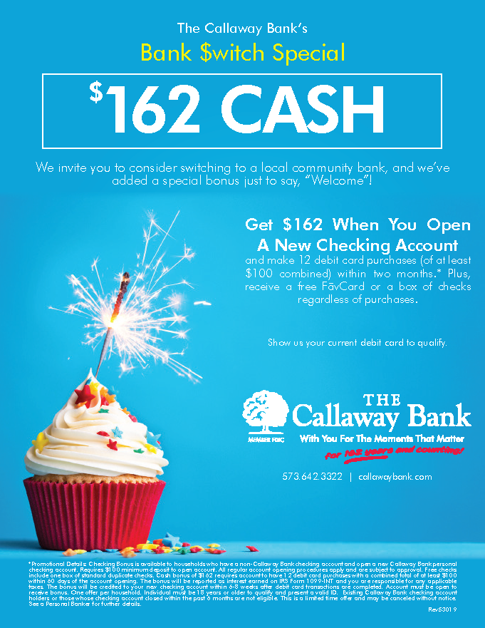 Bank Switch Special | The Callaway Bank