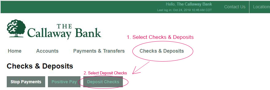 Remote Check Deposit graphic